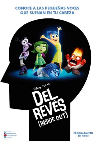 Del Reves Inside Out Poster Cartel