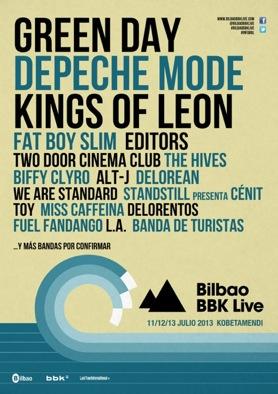 Nuevas confirmaciones del Bilbao BBK Live 2013