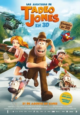 Las Aventuras De Tadeo Jones Cartel 1
