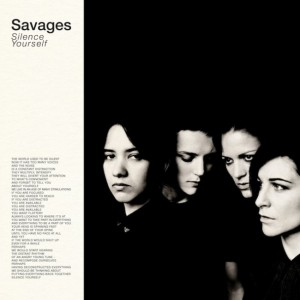 Savages-Silence-Yourself-300x300