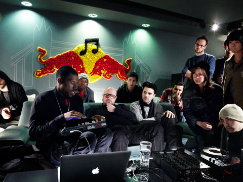 RED BULL MUSIC ACADEMY FOTO