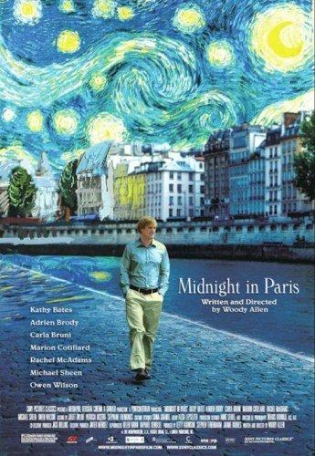 Midnight In Paris  Portada